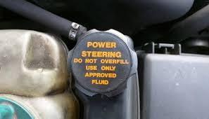 power steering fluid storage